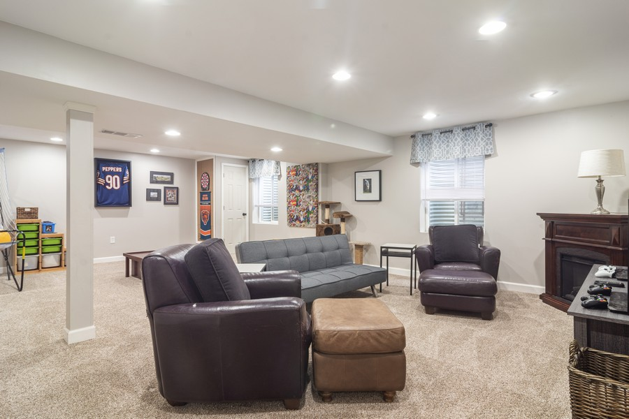 Real Estate Photography - 294 Foxford Drive, Cary, IL, 60013 - Lower Level