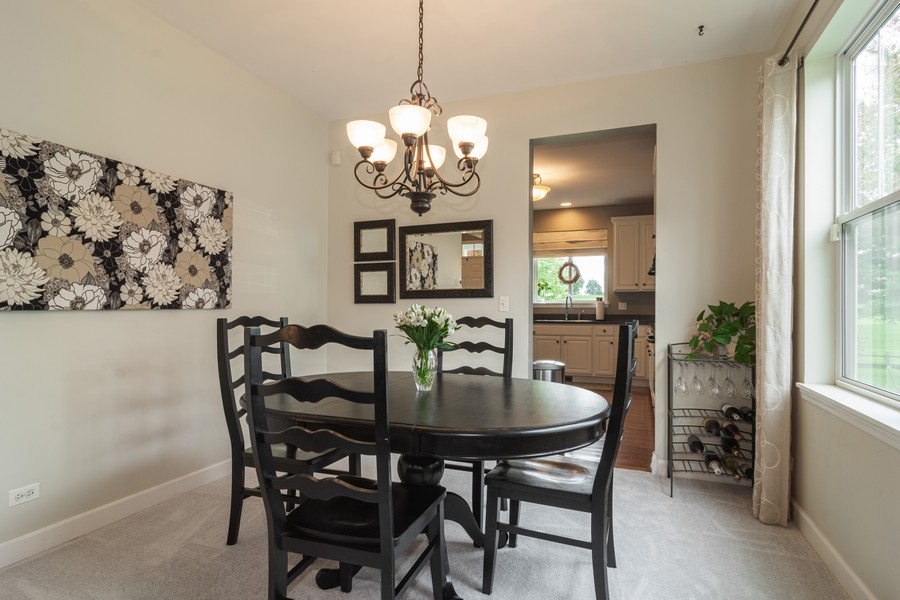 Real Estate Photography - 294 Foxford Drive, Cary, IL, 60013 - Dining Room