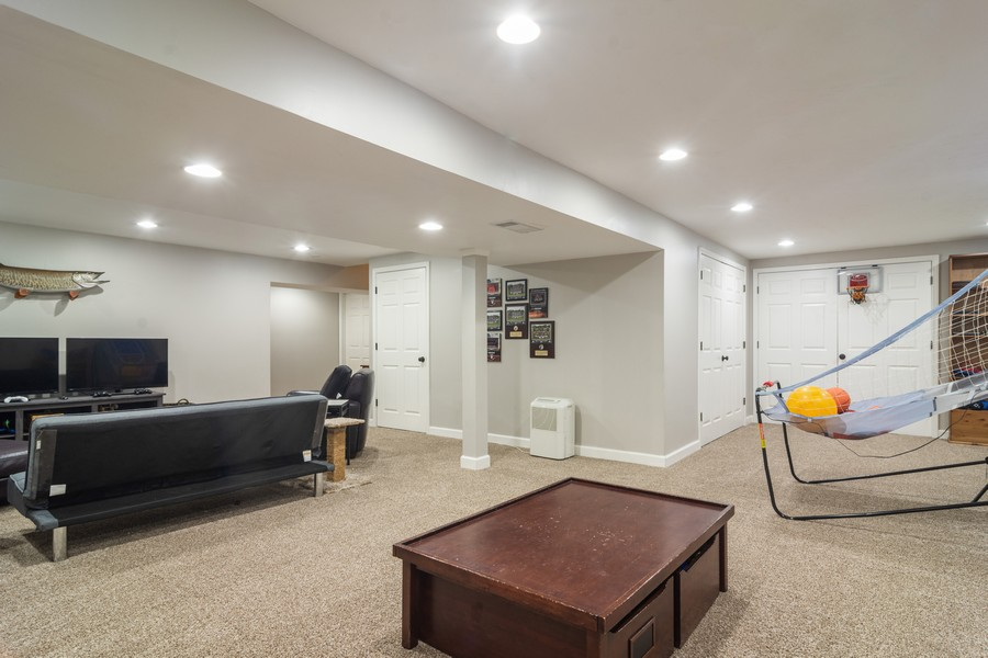 Real Estate Photography - 294 Foxford Drive, Cary, IL, 60013 - Basement