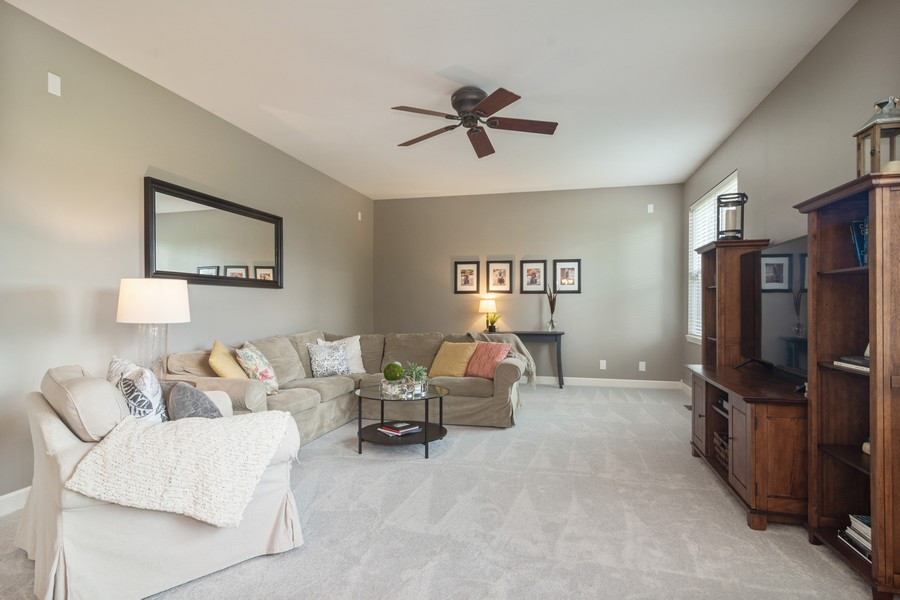 Real Estate Photography - 294 Foxford Drive, Cary, IL, 60013 - Family Room