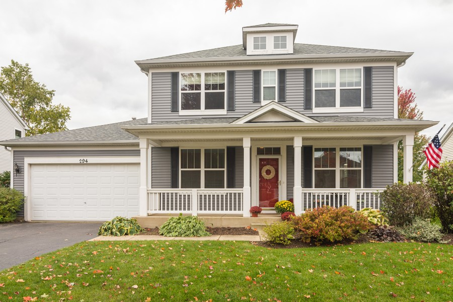 Real Estate Photography - 294 Foxford Drive, Cary, IL, 60013 - Front View