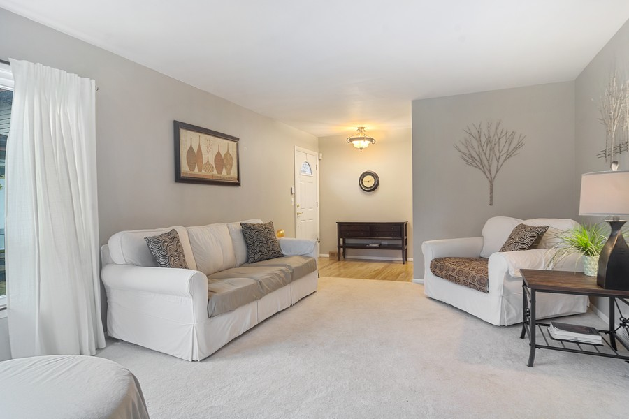 Real Estate Photography - 426 S Gibbons, Arlington Heights, IL, 60004 - Foyer/Living Room