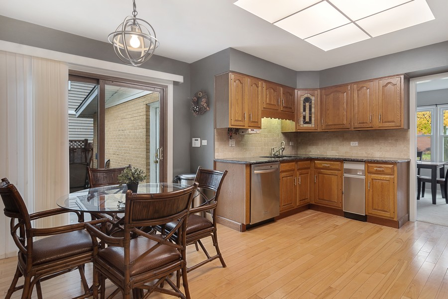 Real Estate Photography - 426 S Gibbons, Arlington Heights, IL, 60004 - Kitchen / Breakfast Room