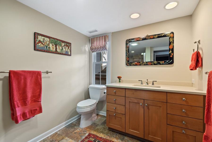Real Estate Photography - 2433 Simpson, Evanston, IL, 60201 - Master Bathroom