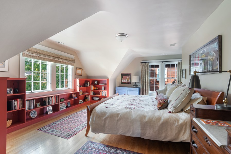 Real Estate Photography - 2433 Simpson, Evanston, IL, 60201 - Master Bedroom