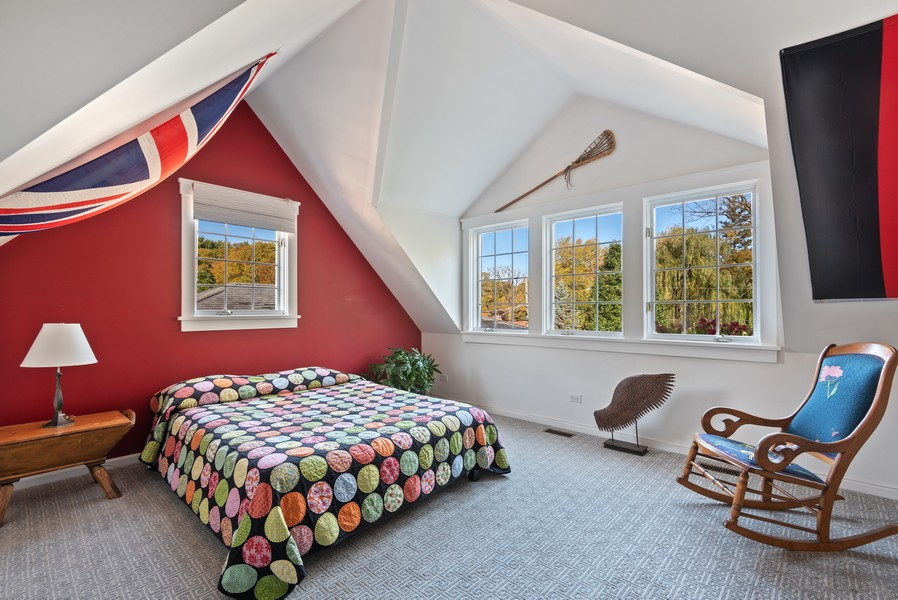 Real Estate Photography - 2433 Simpson, Evanston, IL, 60201 - 3rd Bedroom