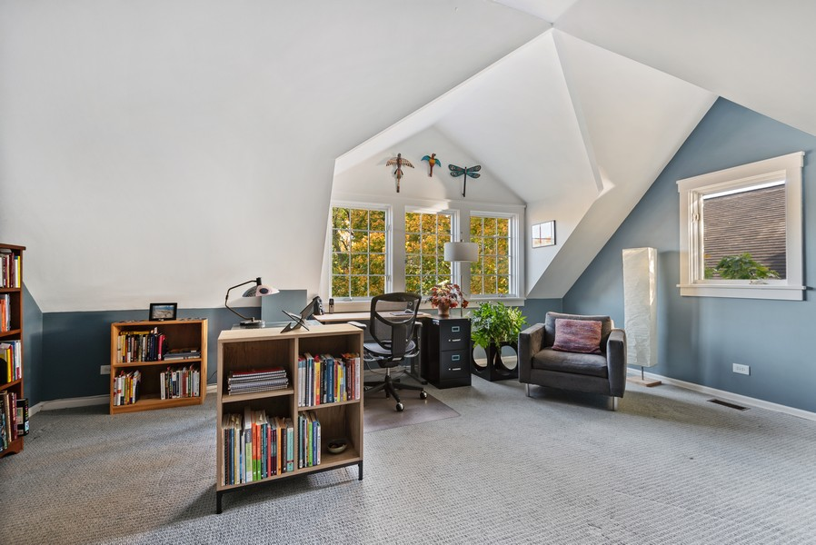 Real Estate Photography - 2433 Simpson, Evanston, IL, 60201 - Great Room
