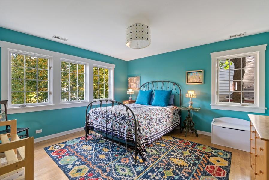 Real Estate Photography - 2433 Simpson, Evanston, IL, 60201 - Bedroom