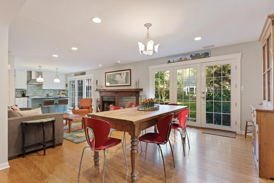 Real Estate Photography - 2433 Simpson, Evanston, IL, 60201 - Kitchen / Breakfast Room