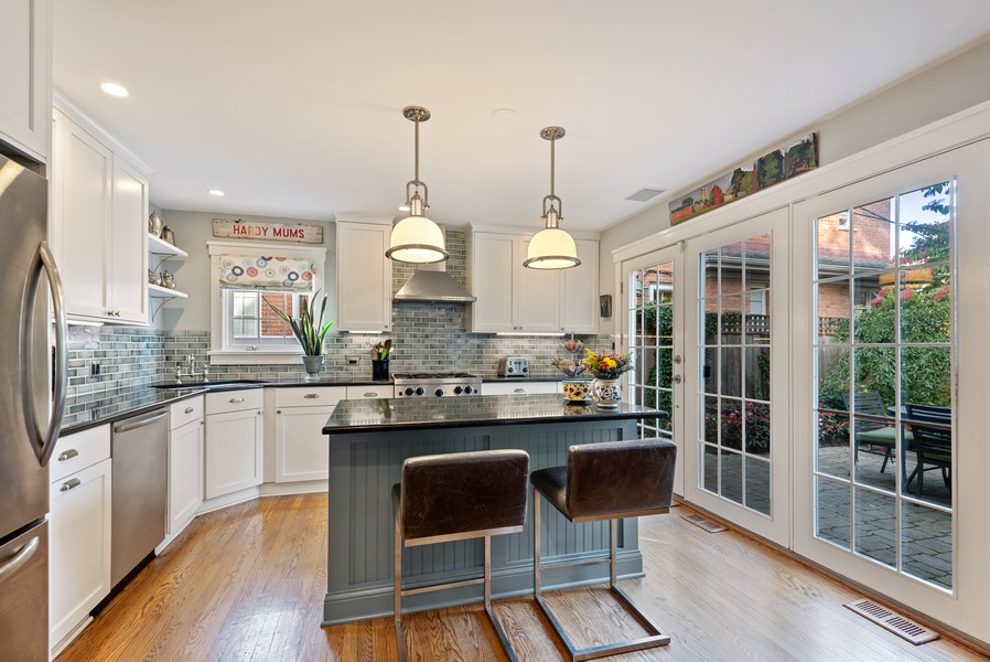 Real Estate Photography - 2433 Simpson, Evanston, IL, 60201 - Kitchen