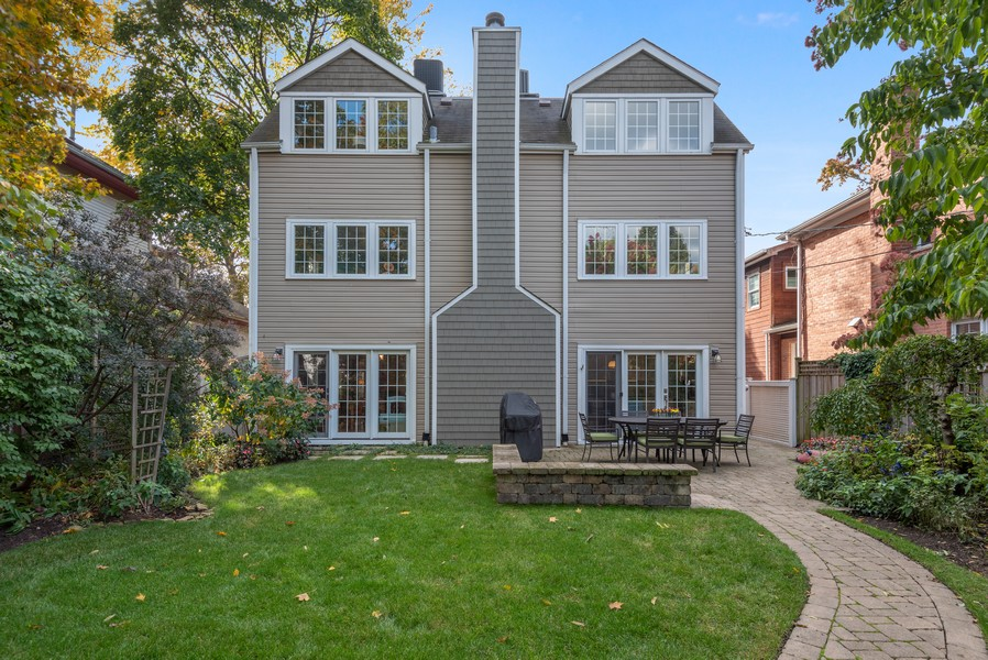 Real Estate Photography - 2433 Simpson, Evanston, IL, 60201 - Rear View