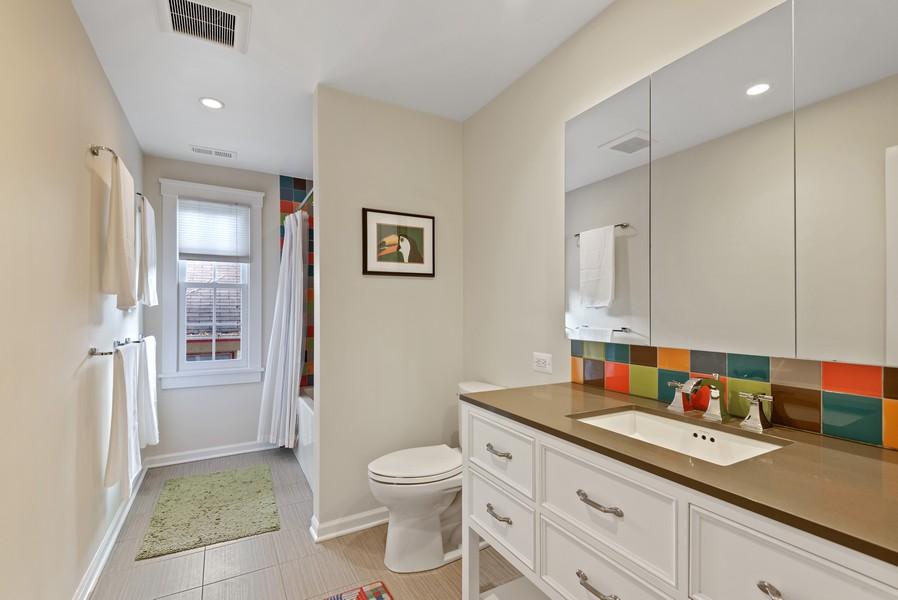 Real Estate Photography - 2433 Simpson, Evanston, IL, 60201 - Bathroom