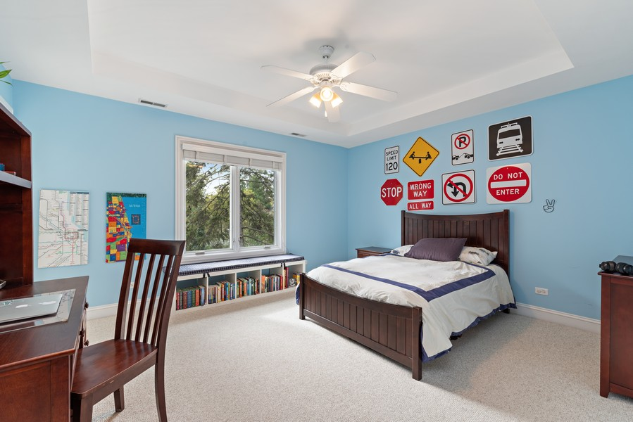 Real Estate Photography - 2328 Illinois, Northbrook, IL, 60062 - 3rd Bedroom