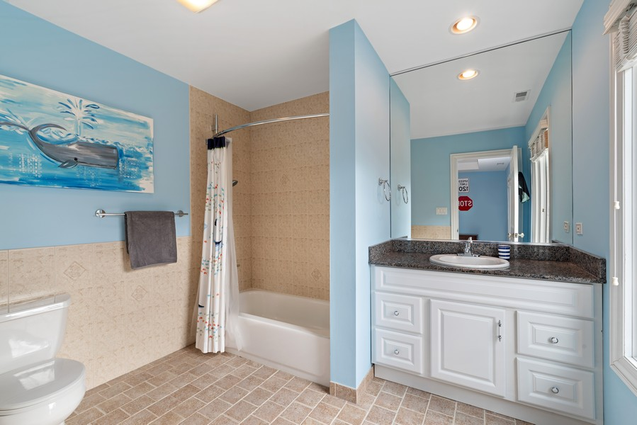 Real Estate Photography - 2328 Illinois, Northbrook, IL, 60062 - Bathroom