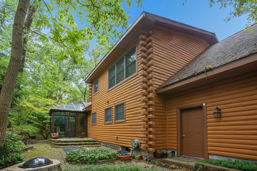 Real Estate Photography - 4054 Choctaw Trail, New Buffalo, MI, 49117 - Rear View