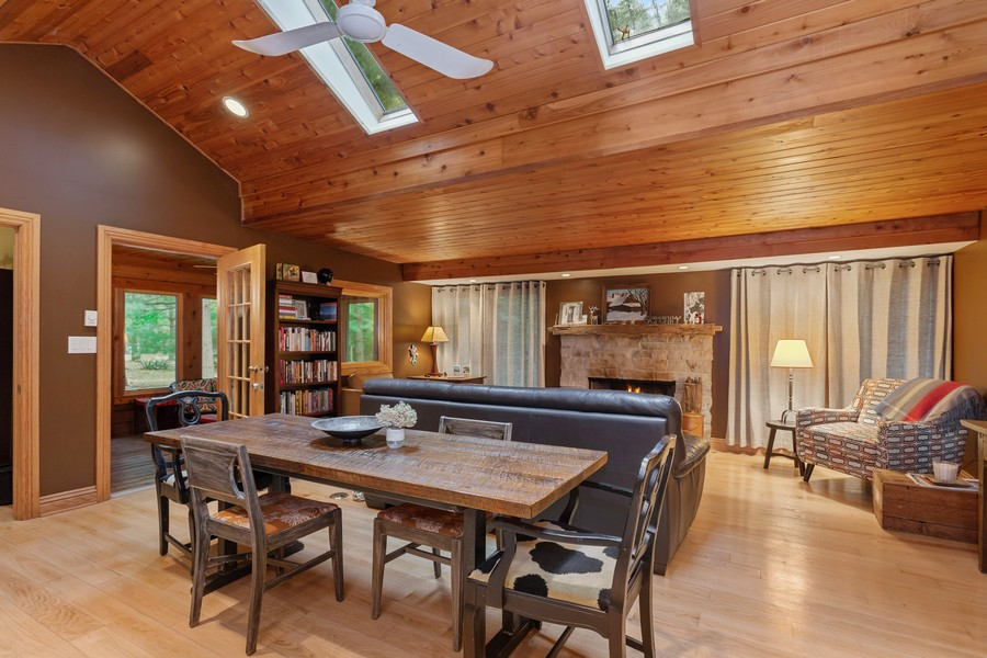 Real Estate Photography - 15975 AB Ruffino Road, Union Pier, MI, 49129 - Dining Room