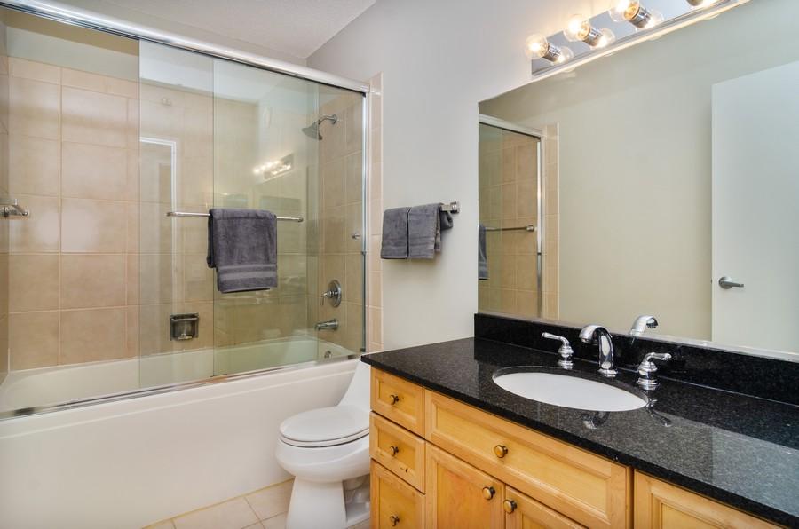 Real Estate Photography - 512 N McClurg Ct, Unit #1310, Chicago, IL, 60611 - Master Bathroom