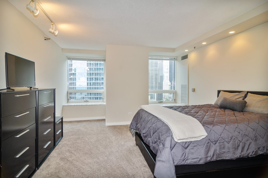 Real Estate Photography - 512 N McClurg Ct, Unit #1310, Chicago, IL, 60611 - Master Bedroom