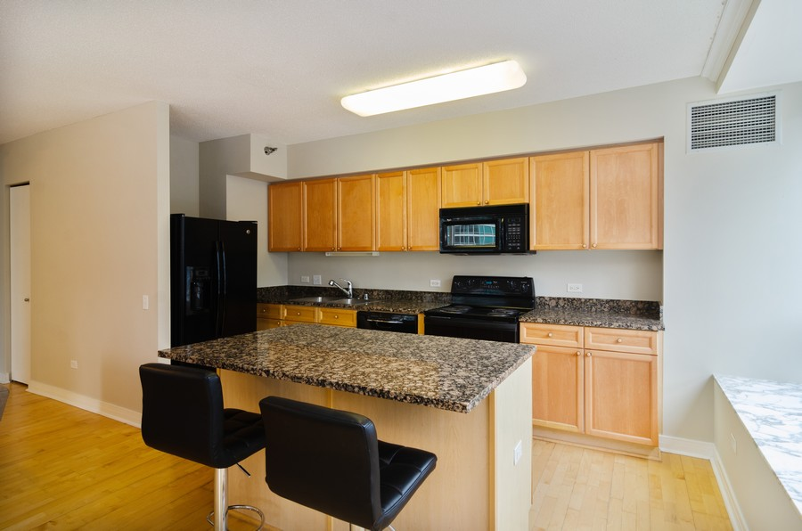 Real Estate Photography - 512 N McClurg Ct, Unit #1310, Chicago, IL, 60611 - Kitchen