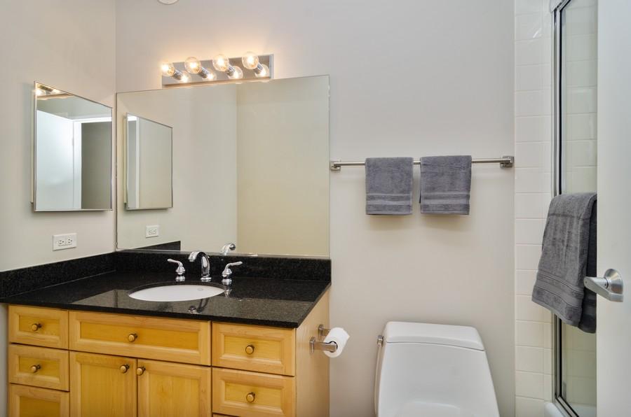 Real Estate Photography - 512 N McClurg Ct, Unit #1310, Chicago, IL, 60611 - Bathroom