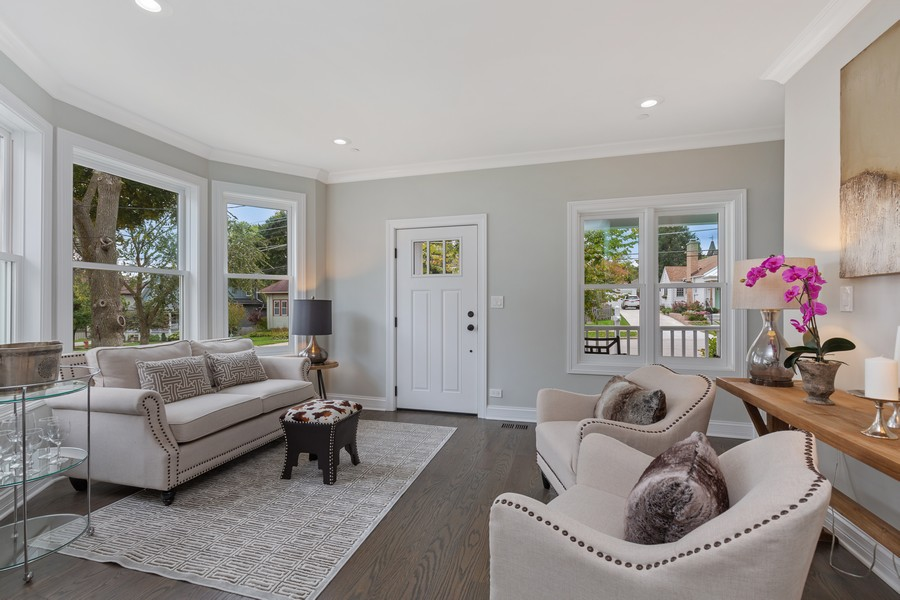 Real Estate Photography - 200 W Station St, Barrington, IL, 60010 - Living Room