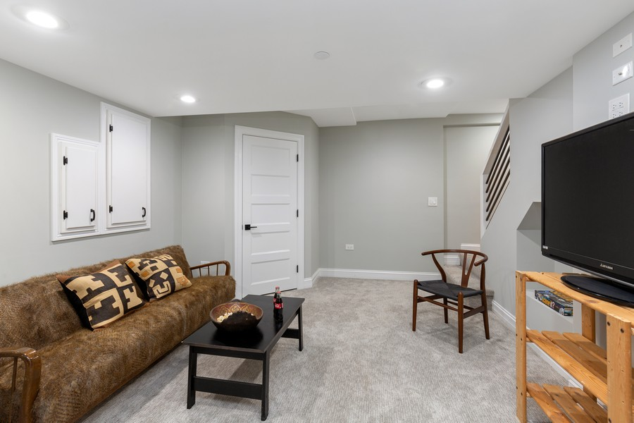 Real Estate Photography - 200 W Station St, Barrington, IL, 60010 - Lower Level