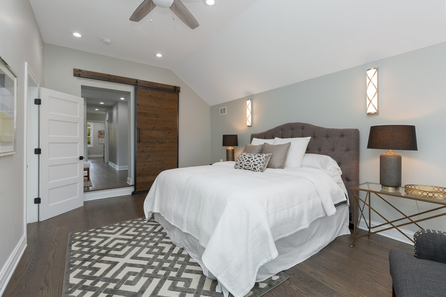 Real Estate Photography - 200 W Station St, Barrington, IL, 60010 - Master Bedroom