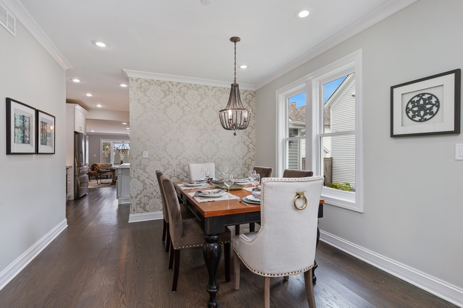 Real Estate Photography - 200 W Station St, Barrington, IL, 60010 - Dining Room