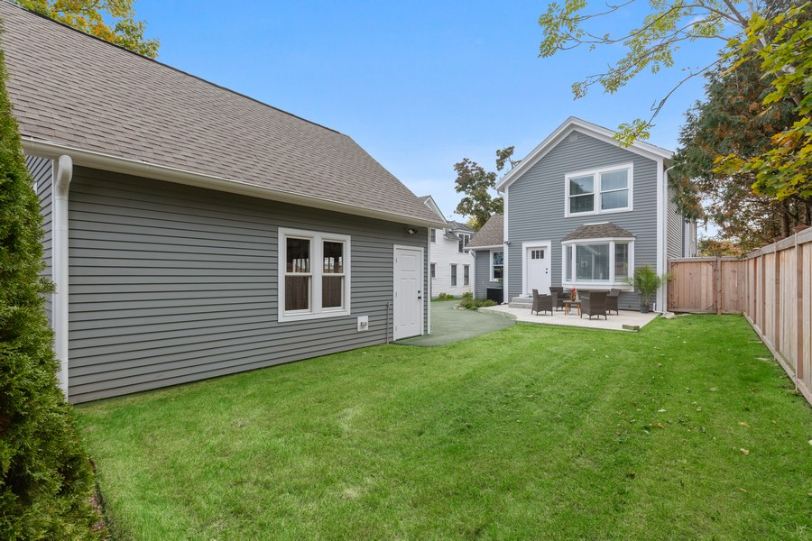 Real Estate Photography - 200 W Station St, Barrington, IL, 60010 - Rear View