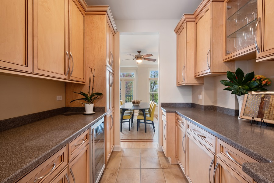 Real Estate Photography - 2044 Valor Ct, Glenview, IL, 60026 - Butler's pantry