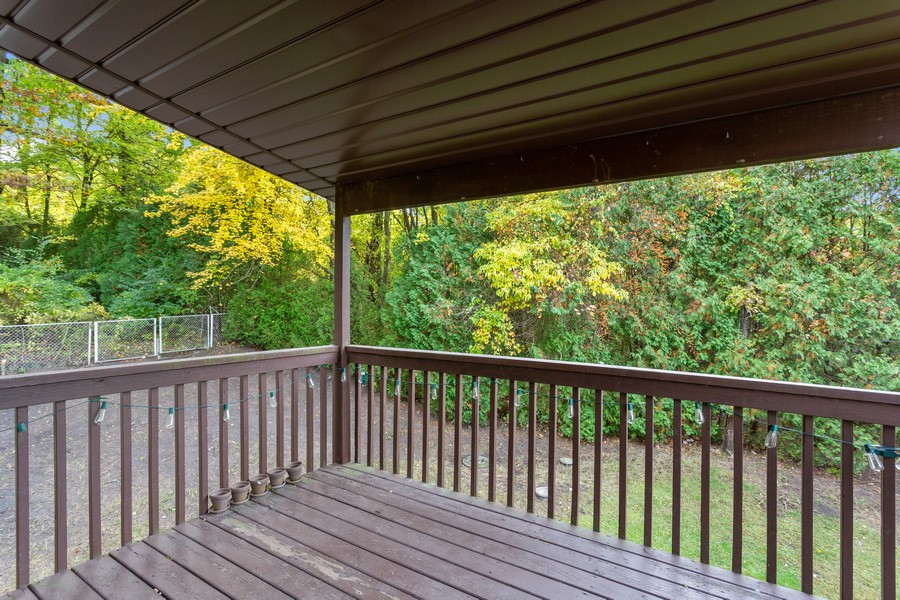 Real Estate Photography - 6566 W 400 N, Michigan City, IN, 46360 - Deck