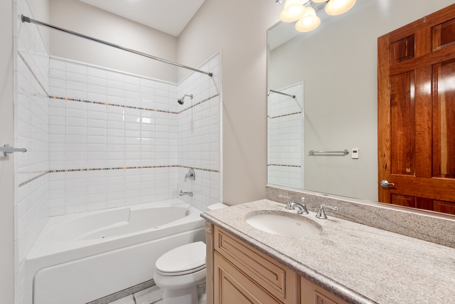 Real Estate Photography - 2720 N Bosworth, Chicago, IL, 60614 - 3rd Bathroom