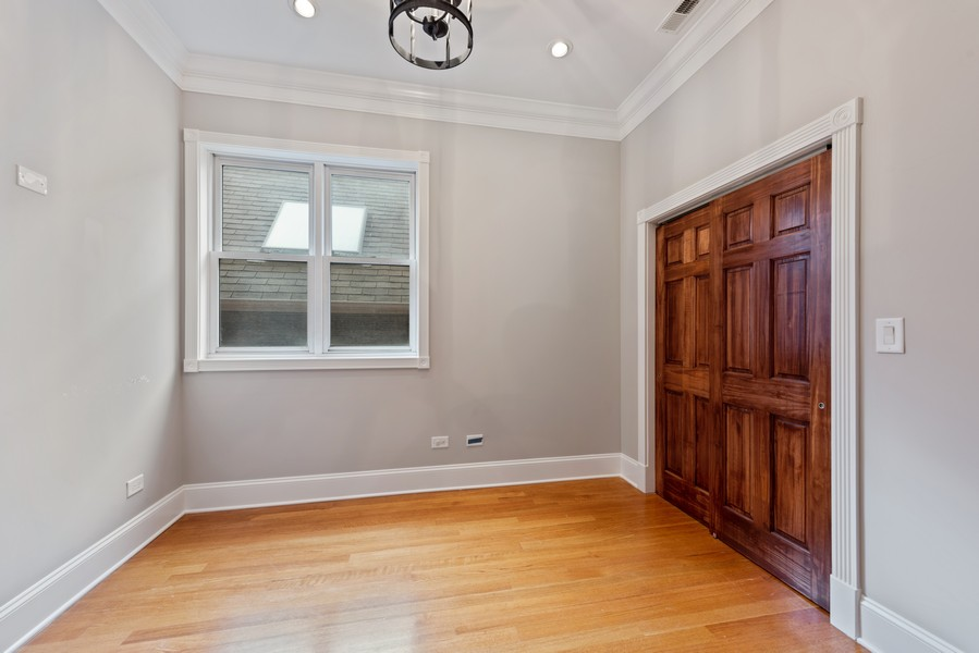 Real Estate Photography - 2720 N Bosworth, Chicago, IL, 60614 - 3rd Bedroom