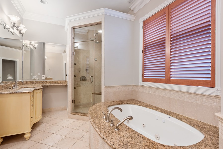 Real Estate Photography - 2720 N Bosworth, Chicago, IL, 60614 - Master Bathroom