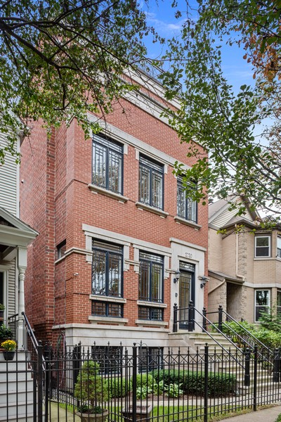 Real Estate Photography - 2720 N Bosworth, Chicago, IL, 60614 - Front View