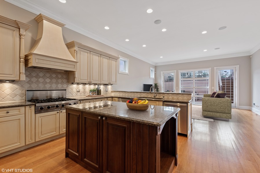 Real Estate Photography - 2720 N Bosworth, Chicago, IL, 60614 - Kitchen
