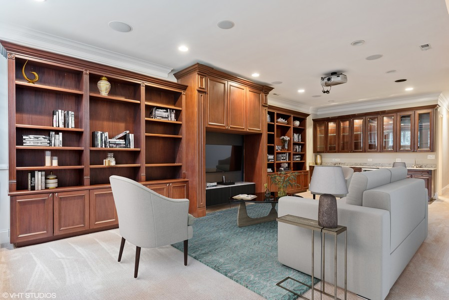 Real Estate Photography - 2720 N Bosworth, Chicago, IL, 60614 - Recreation Room