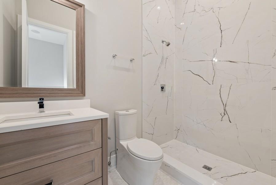Real Estate Photography - 901 Bluff Rd, Glencoe, IL, 60022 - 3rd Bathroom