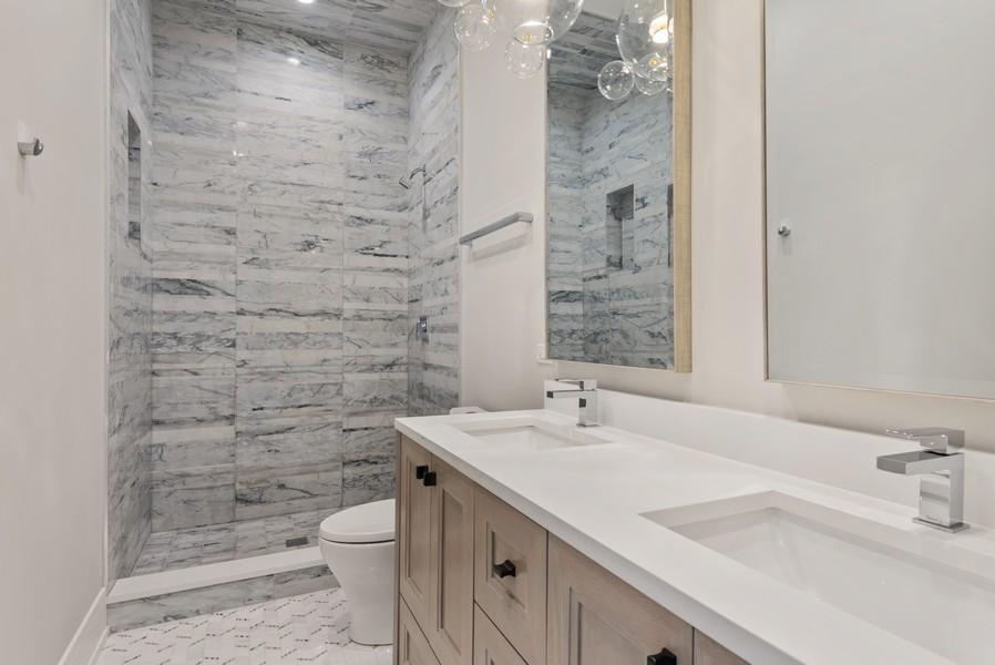Real Estate Photography - 901 Bluff Rd, Glencoe, IL, 60022 - 5th Bathroom