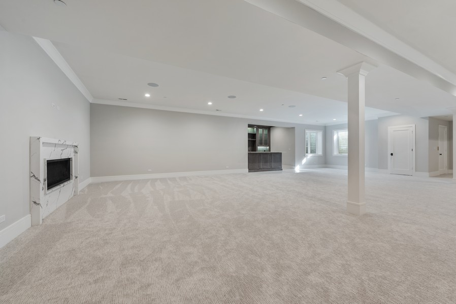 Real Estate Photography - 901 Bluff Rd, Glencoe, IL, 60022 - Recreational Room