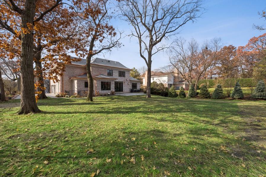 Real Estate Photography - 901 Bluff Rd, Glencoe, IL, 60022 - Back Yard