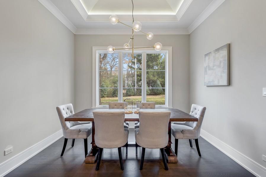 Real Estate Photography - 901 Bluff Rd, Glencoe, IL, 60022 - Breakfast Area