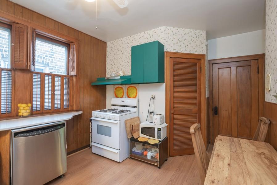 Real Estate Photography - 2651 W Winona Street, Chicago, IL, 60625 - Kitchen