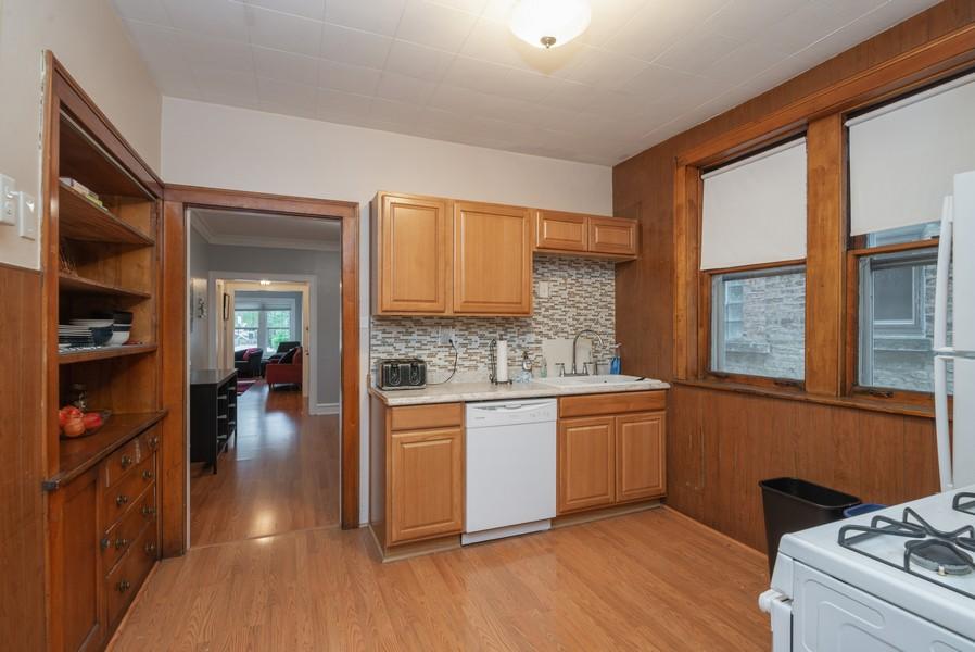 Real Estate Photography - 2651 W Winona Street, Chicago, IL, 60625 - 1st floor kitchen