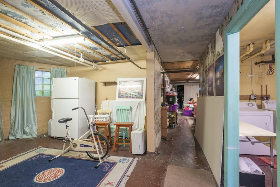 Real Estate Photography - 2651 W Winona Street, Chicago, IL, 60625 - Basement back room