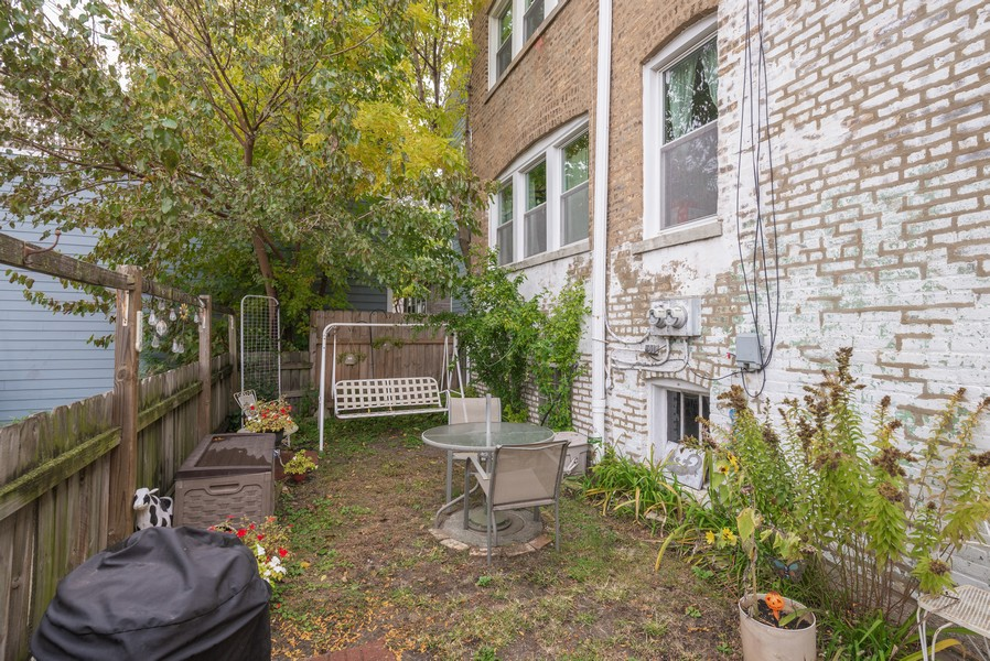 Real Estate Photography - 2651 W Winona Street, Chicago, IL, 60625 - Back Yard