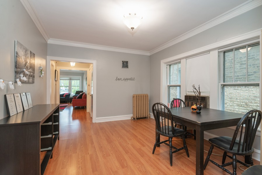Real Estate Photography - 2651 W Winona Street, Chicago, IL, 60625 - 1st floor dining room