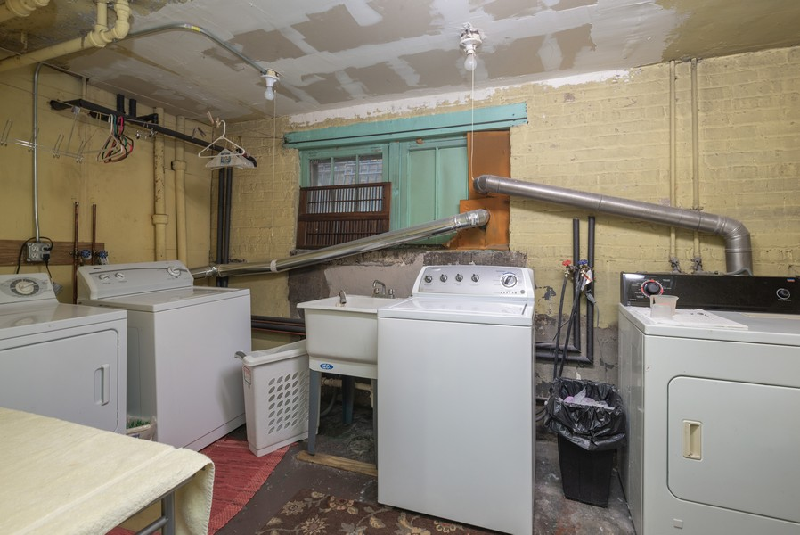 Real Estate Photography - 2651 W Winona Street, Chicago, IL, 60625 - Laundry Room