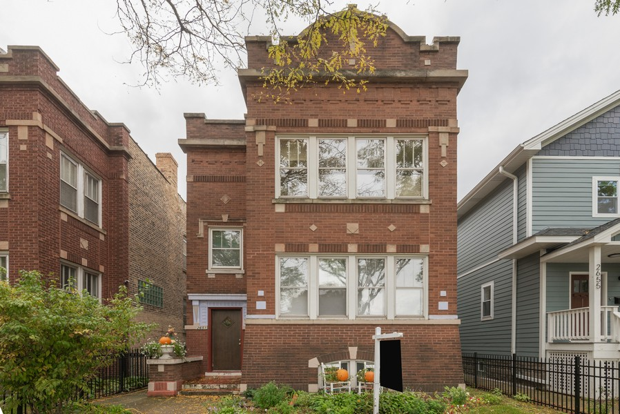 Real Estate Photography - 2651 W Winona Street, Chicago, IL, 60625 - Front View