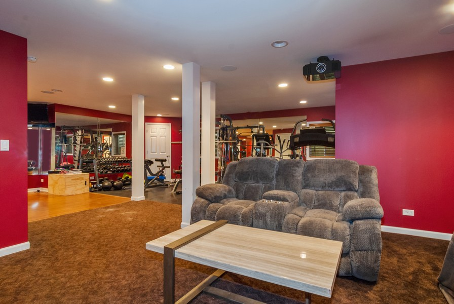 Real Estate Photography - 915 Burnham Court, Aurora, IL, 60502 - Basement
